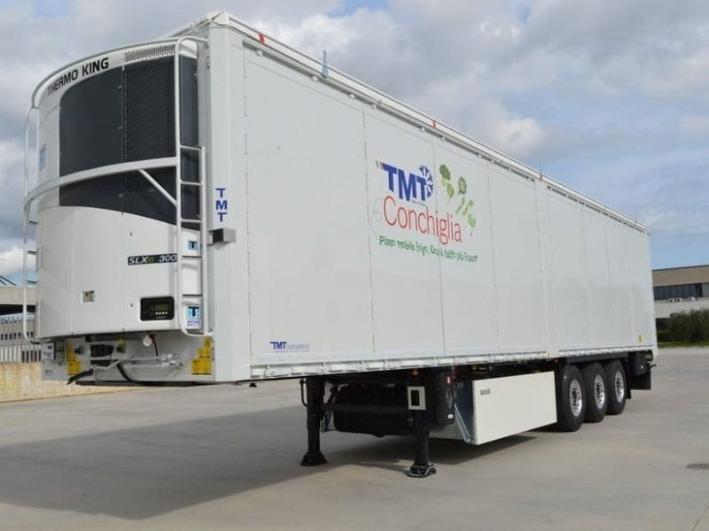 Conchiglia Refrigerated Walking-floor® semi-trailer
