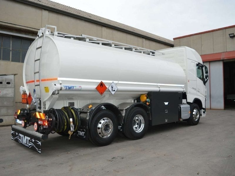 Technical support for tank trucks