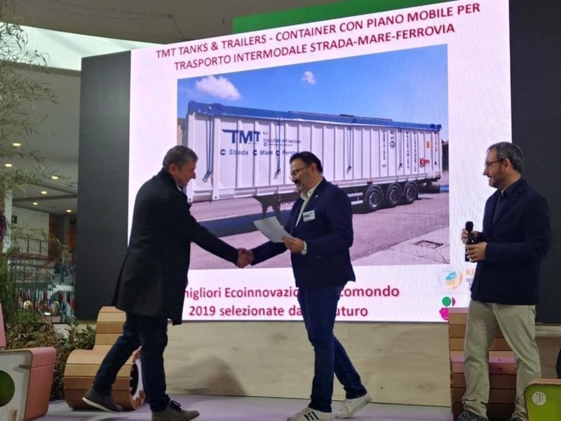 Ecomondo 2019 – TMT Tanks&Trailers Innovation Technologique Primée